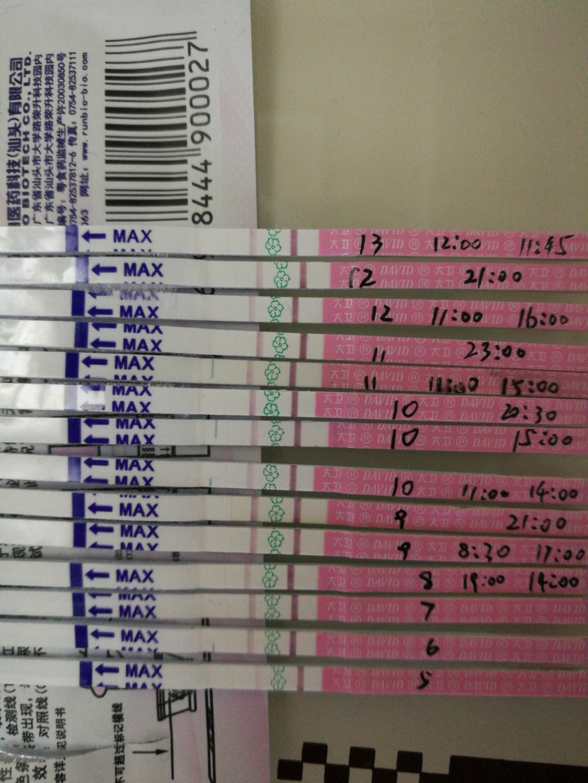 排卵试纸什么时候用_用大卫排卵试纸测,可是一直两条线,已经不清楚什么时候排卵 ...